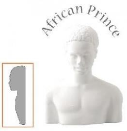 afrikaanse man buste (half)