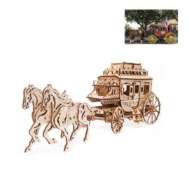 Postkoets met paarden