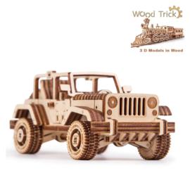 WOOD TRICK bouwdozen hout  3D