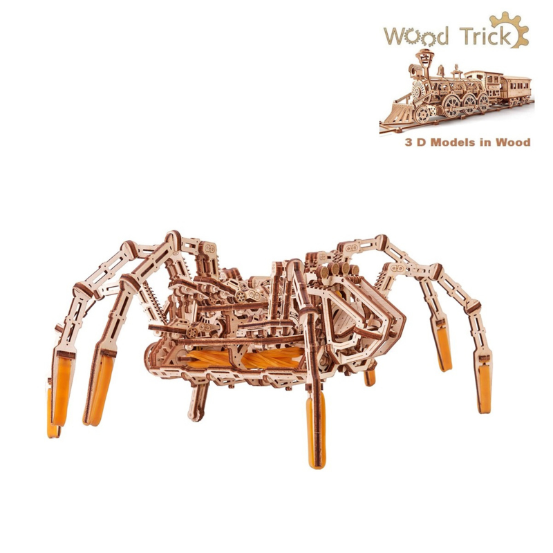 Space spider mechanische spin Wood Trick