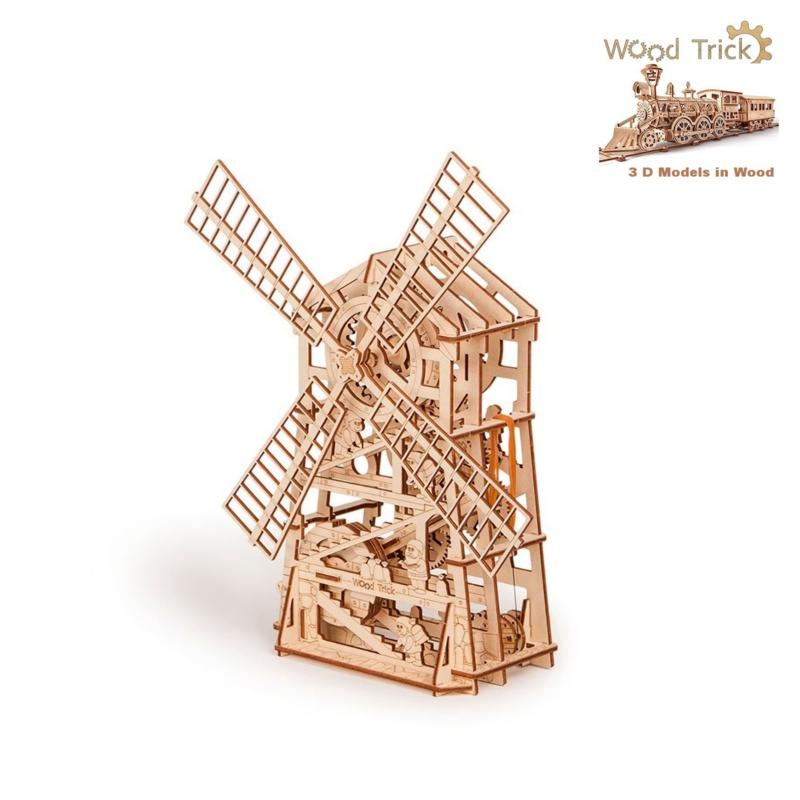 molen bouwpakket Woodtrick