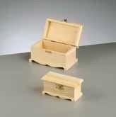 kistje in hout ( E 722)