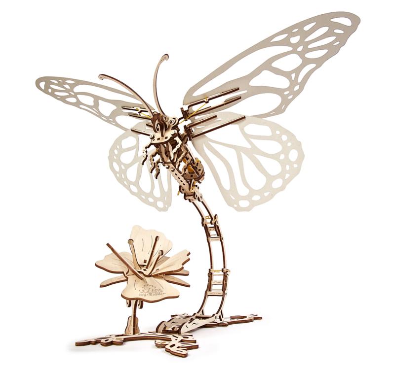 Ugears vlinder