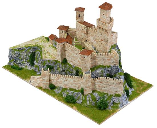 fort van Guaita bouwdoos steentjes