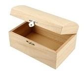 Kistje in hout ( C440)
