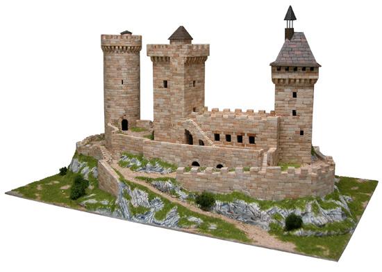kasteel van Fois bouwdoos Aedes Ars