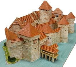 kasteel van Chillon bouwdoos Aedes Ars