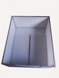 Werpkist X-Large bodemplaat twee delen