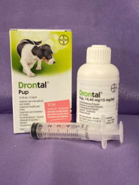 Drontal pup ontworming 50 ml