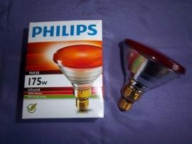 Infra rood warmtelamp energysaving 175 watt