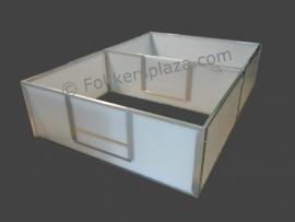 Werpkist X-Large met ren polycarbonaat