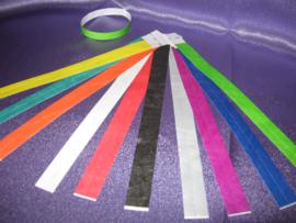 Puppy ID bandjes éénmalig gebruik 100 stuks 19 mm