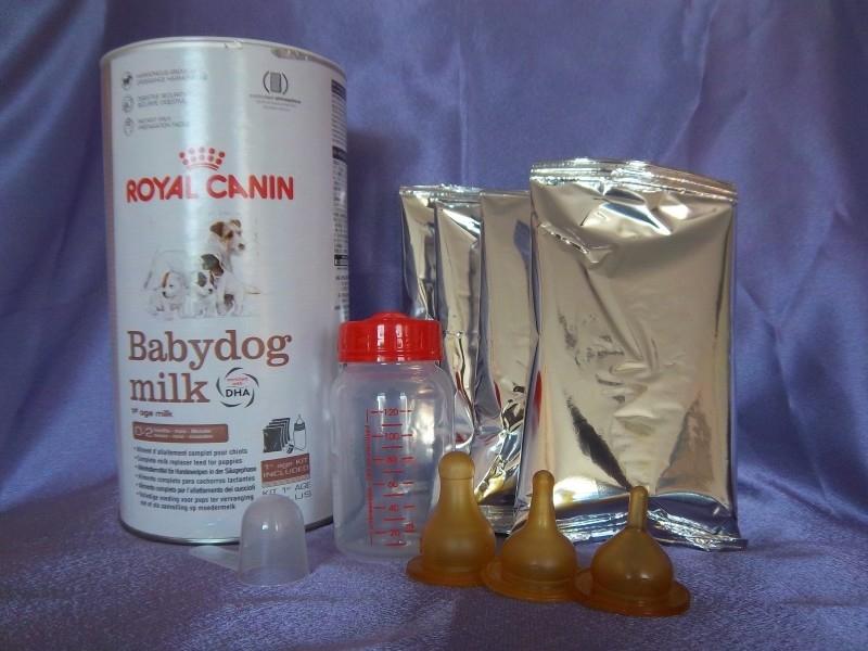 Royal Canin Babydog milk 400 gram incl flesset