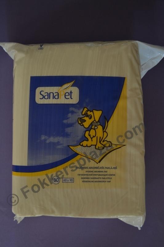 Sanapet Celstof onderleggers 60 x 60 cm 30 stuks