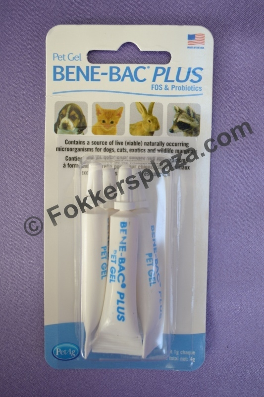 Bene-bac plus gel probiotica 4x1 gram