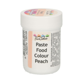 FunCakes FunColours Paste Food Colour - Peach 30gr