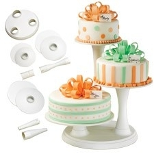 Wilton 3 Tier Pillar Cake Stand