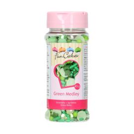 FunCakes Sprinkle Medley Groen - 65g