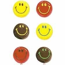 Wilton Lollipop mold Smiley Faces
