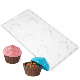Wilton Candy Mold Cupcake Container