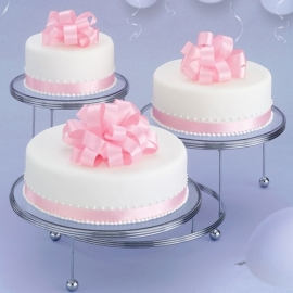 Wilton Cakes `n More 3 Tier Party Stand