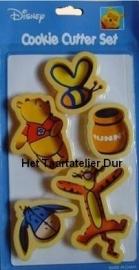 Winnie de Poeh Cookie Cutter set/5
