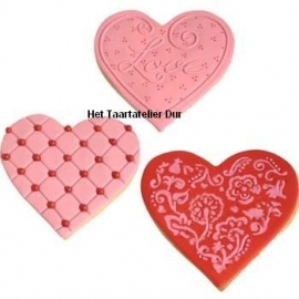 CK Cookie Cutter Texture Set - Heart