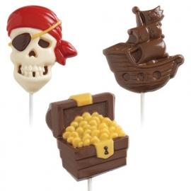 Wilton Lollipop Mold Pirate