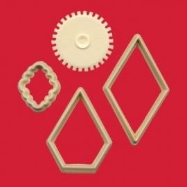 FMM Patchwork cutter set/4