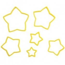 Wilton Nesting Star Cutter set/6