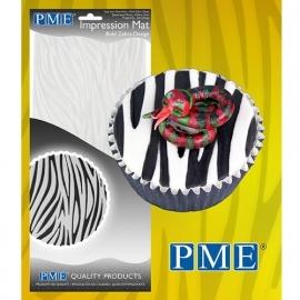 PME Impression Mat Bold Zebra