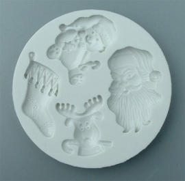 Alphabet moulds Christmas