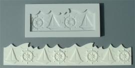 Alphabet Moulds Nautical Border