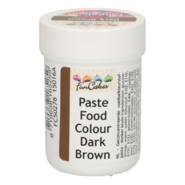 FunCakes FunColours Paste Food Colour - Dark Brown 30g