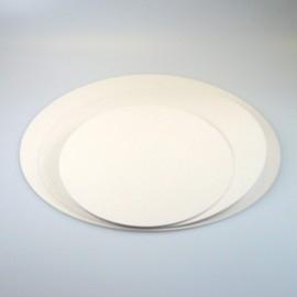 Vetvrij karton 28 cm rond - per 5 stuks
