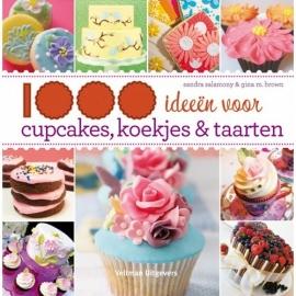 1000 ideeën voor cupcakes, koekjes en taarten