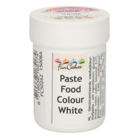 FunCakes FunColours Paste Food Colour - White Snow 30g