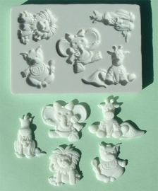 Alphabet moulds
