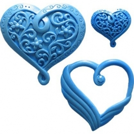 First Impressions Molds Heart 4 set/4