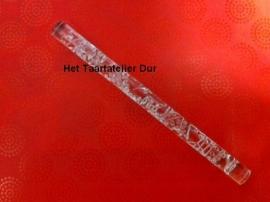 Acryl rolstokje Druif met blaadjes (1)