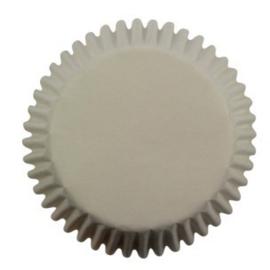 PME Mini Cupcakevormpjes Wit pk/100