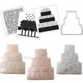 CK Cookie Cutter Texture Set - Wedding cake