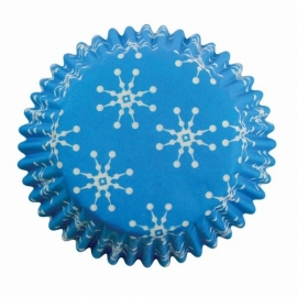 PME Baking Cups Snowflakes Pk/60