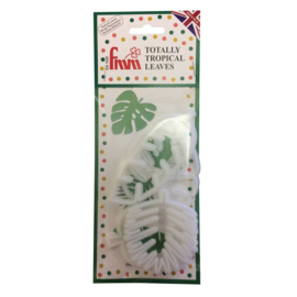 FMM Totally Tropical Leaves Cutters Set/4