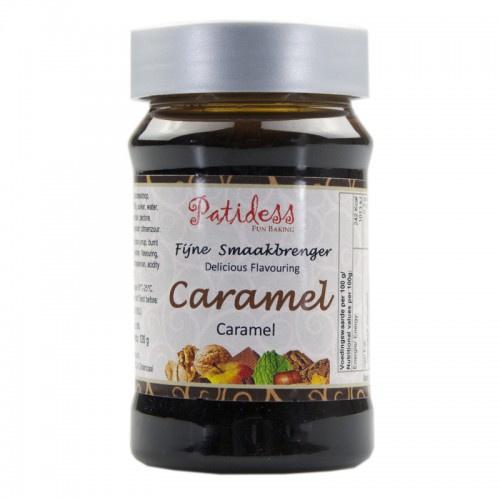Patidess Smaakpasta Caramel 120g