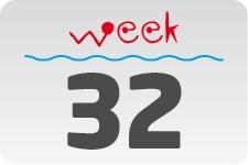 4 - week 32 / 8 augustus - 15 augustus