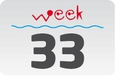 1 - week 33 / 14 augustus - 21 augustus