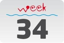 1 - week 34 / 22 augustus - 29 augustus