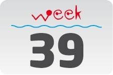 1 - week 39 / 26 september - 3 oktober
