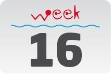 1 - week 16 / 17 april - 24 april